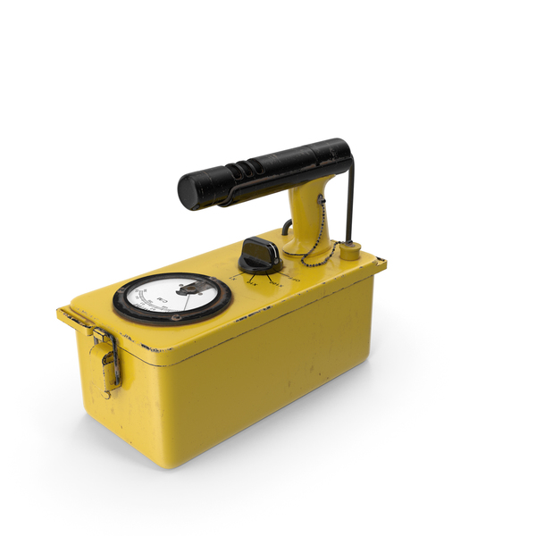 Cold War Geiger Counter Old PNG & PSD Images