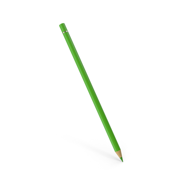 Color Pencil Green PNG & PSD Images