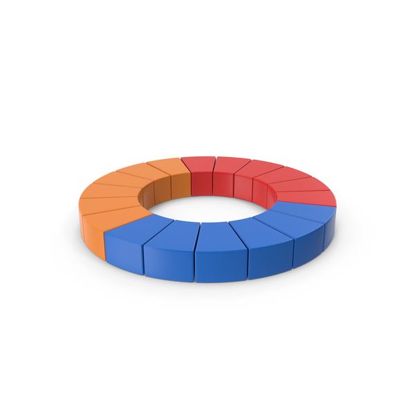 Colored Pie Chart PNG & PSD Images