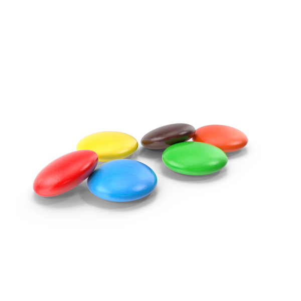 Colorful Chocolate Candy Object