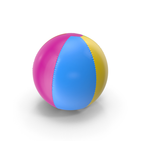 Colorfull Inflatable Beach Ball PNG & PSD Images
