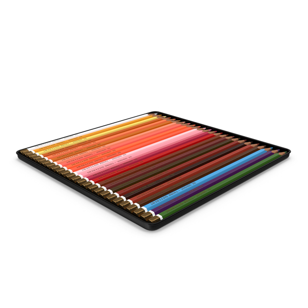 Coloured Pencils PNG & PSD Images