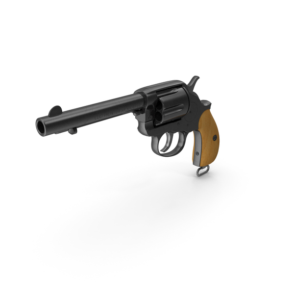 Revolver: Colt 1878 Double Action Frontier PNG & PSD Images