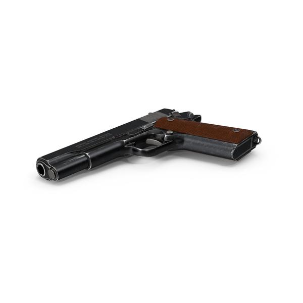 Colt 1911 Pistol PNG & PSD Images