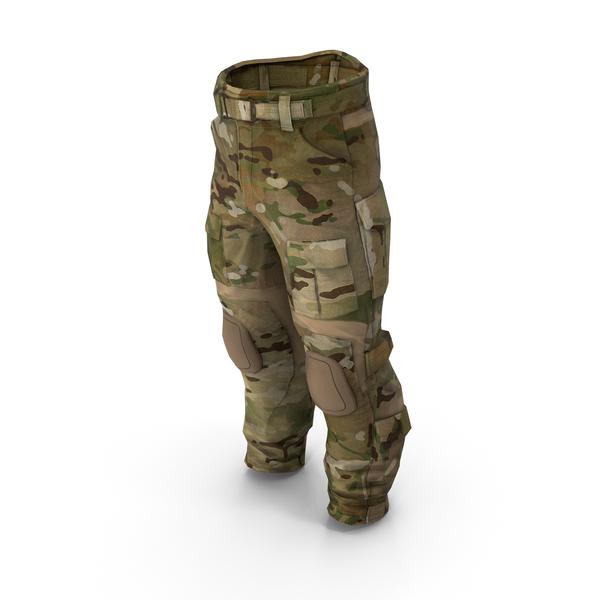 Combat Pant AC Multicam PNG & PSD Images