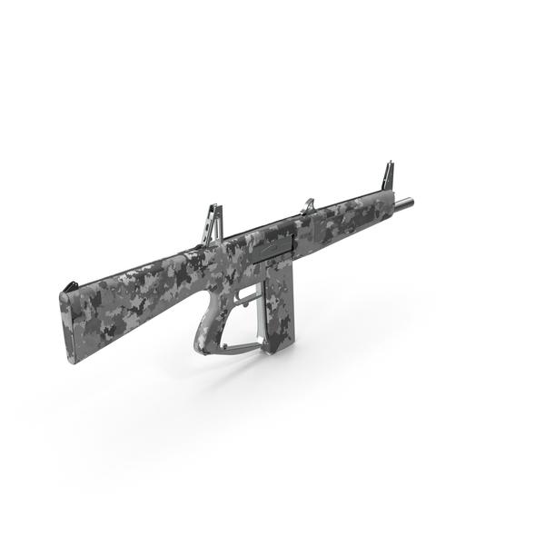 Combat Shotgun AA-12 PNG & PSD Images