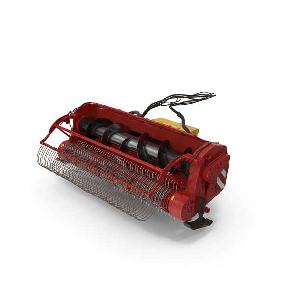 Combine Harvester Draper Header PNG & PSD Images