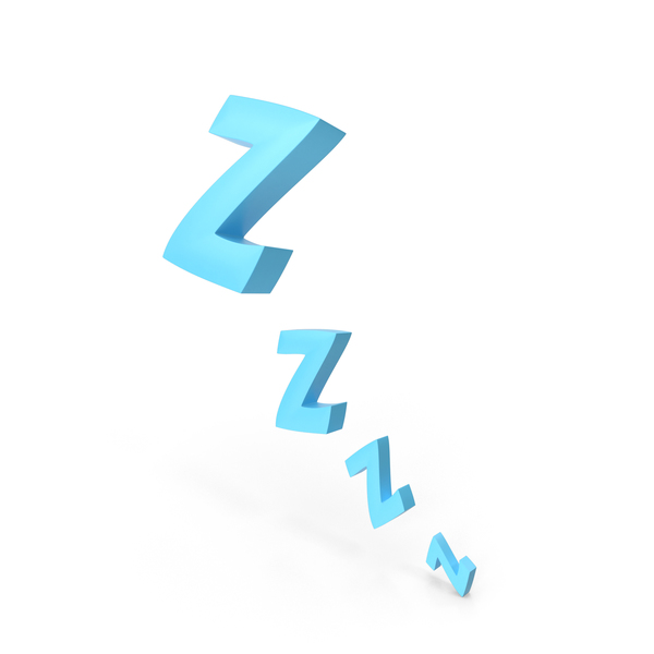 Comic Sleeping Zzzz PNG & PSD Images