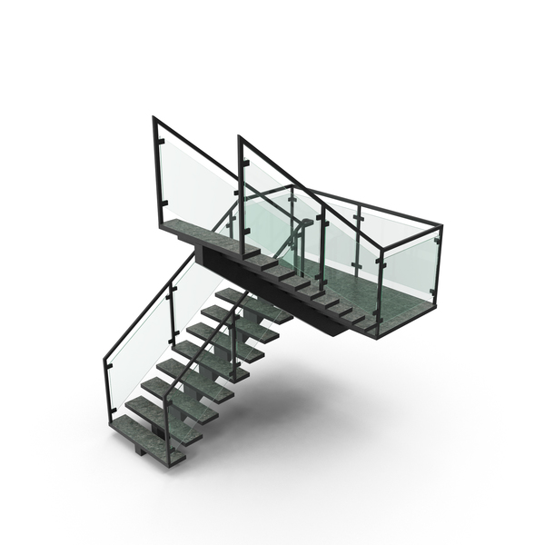 Commercial Staircase Object