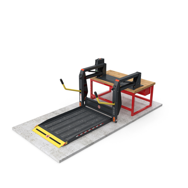 Commercial Wheelchair Lift PNG & PSD Images