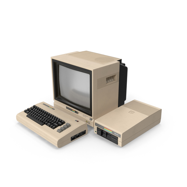 Computer: Commodore  64 PNG & PSD Images