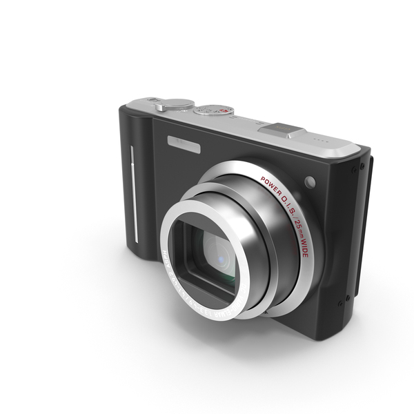 Compact Digital Camera PNG & PSD Images