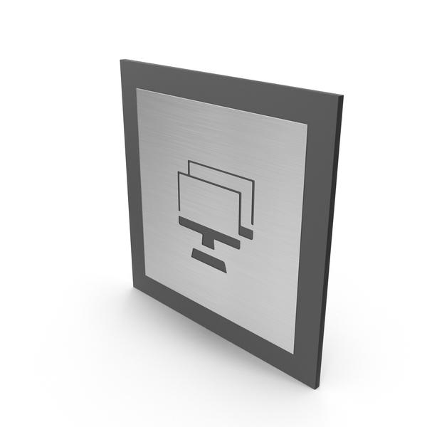 Computer Room Door Sign PNG & PSD Images