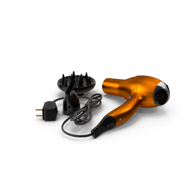 Conair Hair Dryer with Nozzles PNG & PSD Images