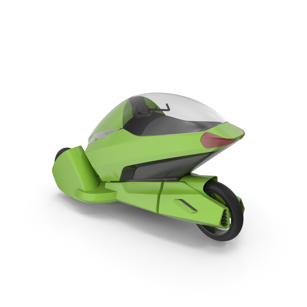 Concept Motor Cycle Green PNG & PSD Images