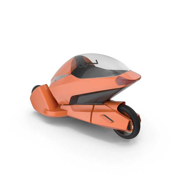 Concept Motor Cycle Orange PNG & PSD Images