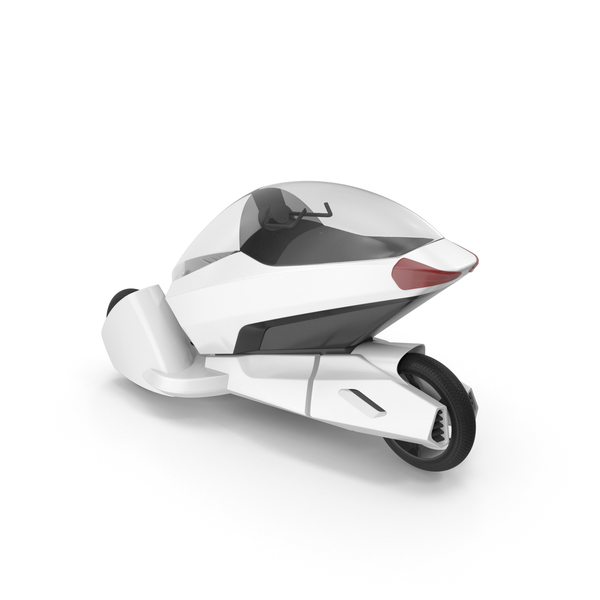 Concept Motor Cycle White PNG & PSD Images