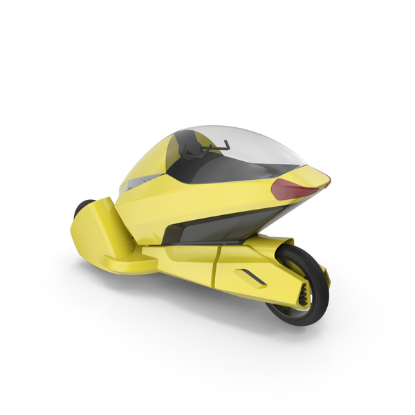 Concept Motor Cycle Yellow PNG & PSD Images