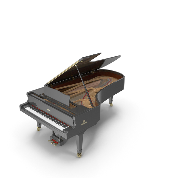 Concert Grand Piano Yamaha CFIIIS PNG & PSD Images