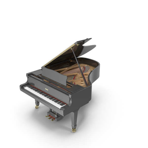 Concert Grand Piano Yamaha S6BB PNG & PSD Images