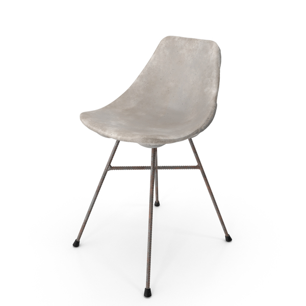 Concrete Chair PNG & PSD Images