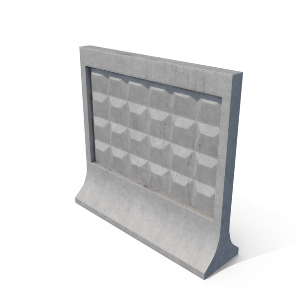 Barrier: Concrete Fence PNG & PSD Images