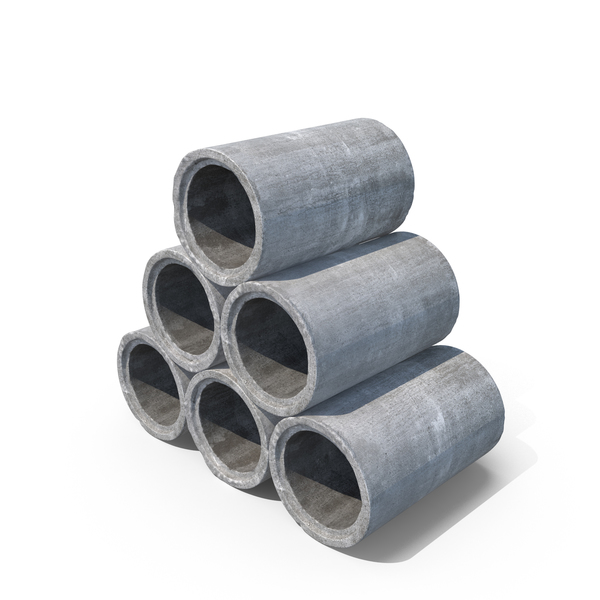 Concrete Pipes Object