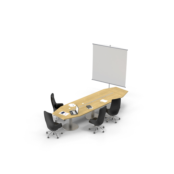 Office Furniture Collections: Conference Room PNG & PSD Images