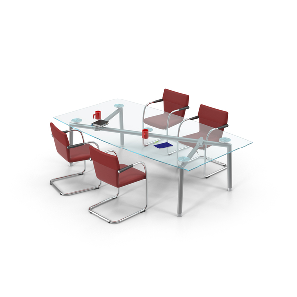 Office Furniture Collections: Conference Room Set PNG & PSD Images