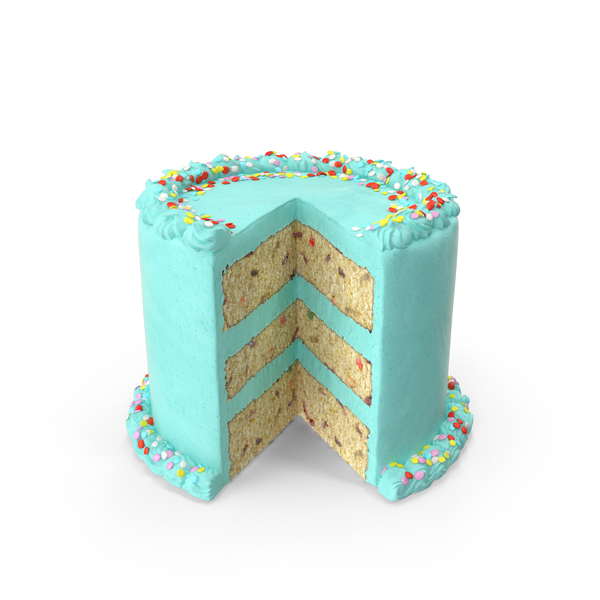 Confetti Cake PNG & PSD Images