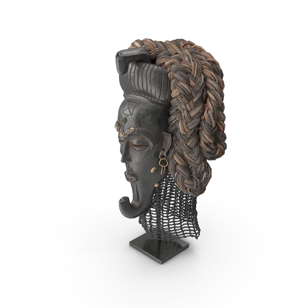 Congo King Mask PNG & PSD Images