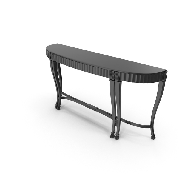 Console table black PNG & PSD Images