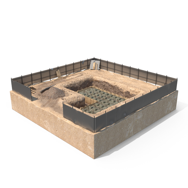Construction Pit Object