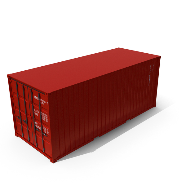 Cargo: Container Red PNG & PSD Images