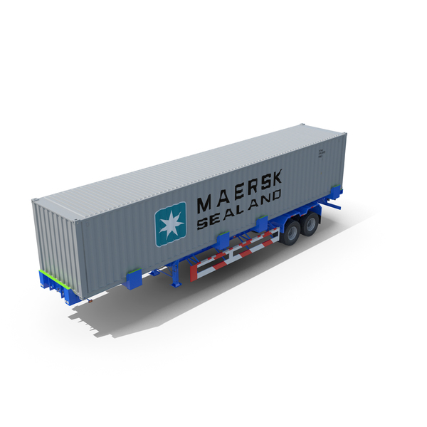 Container Trailer Titan PNG & PSD Images