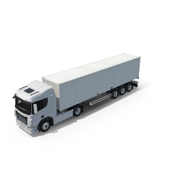 Container Truck PNG & PSD Images
