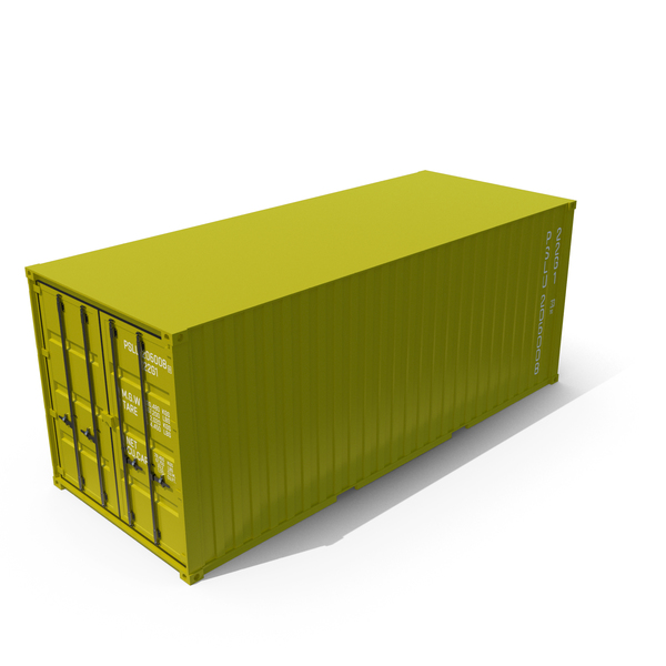 Container Yellow PNG & PSD Images
