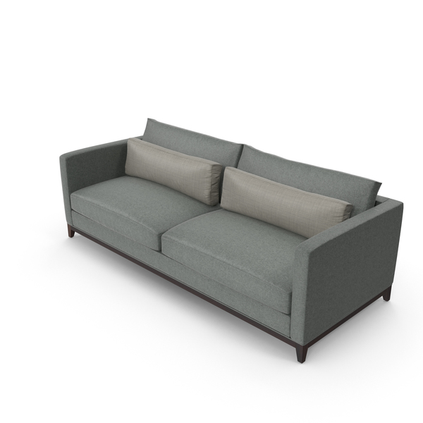 Contemporary 2 Seater Sofa PNG & PSD Images