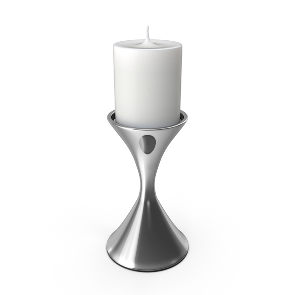 Contemporary Candle Holder PNG & PSD Images