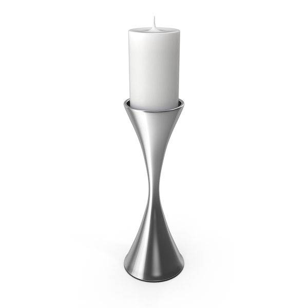 Candlestick: Contemporary Candle Holder PNG & PSD Images