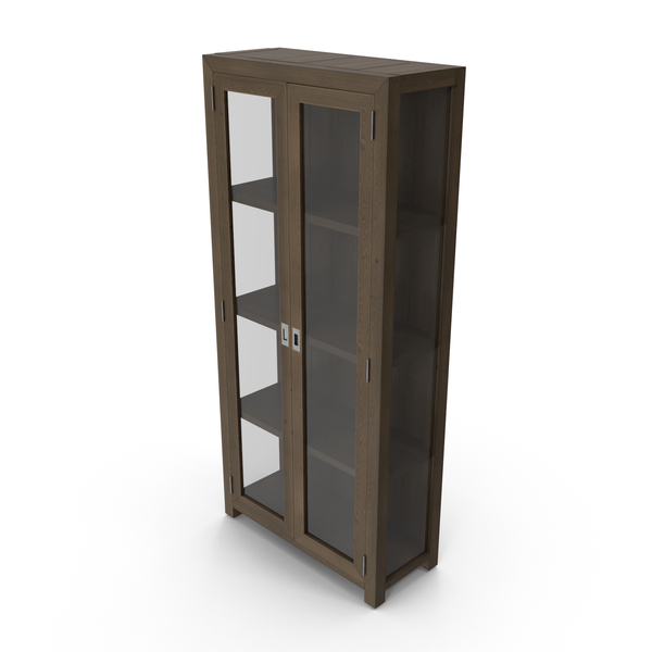 Cupboard: Contemporary Display Cabinet PNG & PSD Images