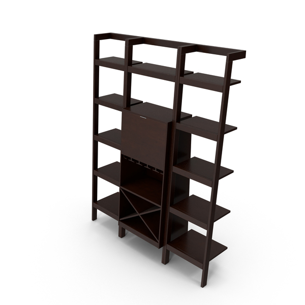 Contemporary Shelving System PNG & PSD Images
