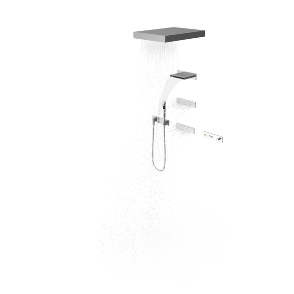 Contemporary Shower PNG & PSD Images