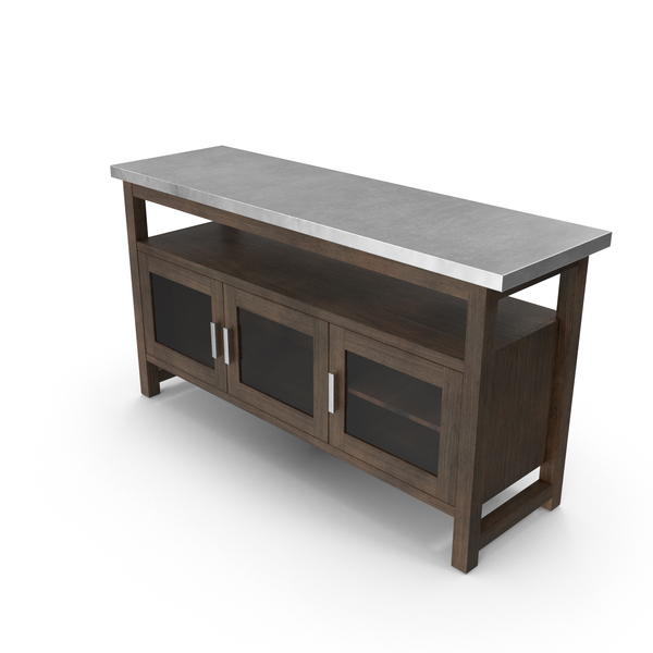 Contemporary Sideboard PNG & PSD Images