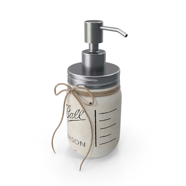 Contemporary Soap Dispenser PNG & PSD Images