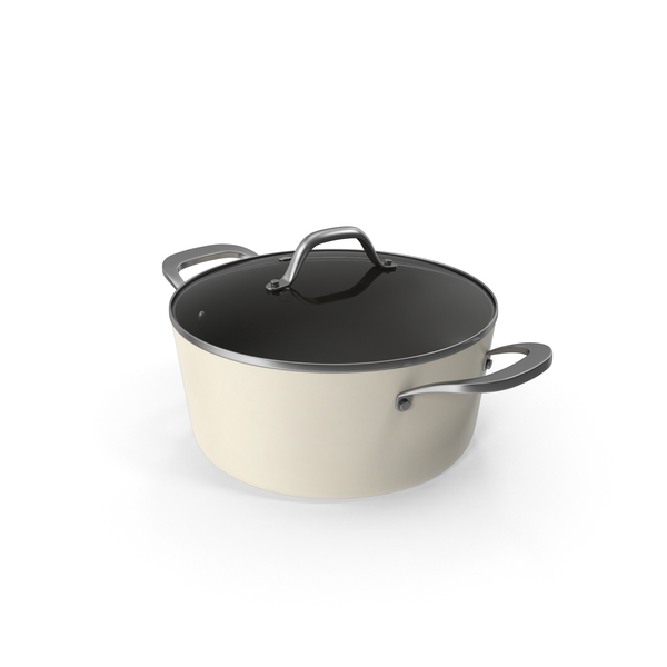 Cookware: Contemporary Soup Pot PNG & PSD Images