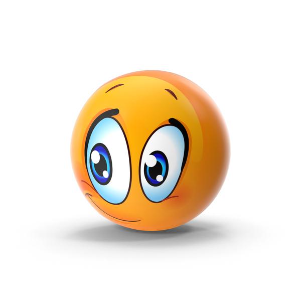 Content Emoji PNG & PSD Images