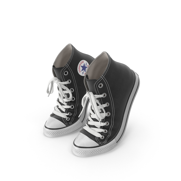 High Top Sneakers: Converse Chuck Taylor All-Stars PNG & PSD Images