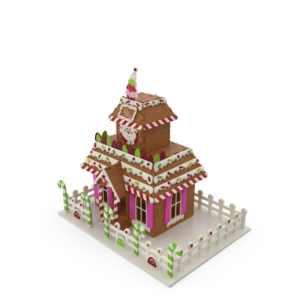 Gingerbread: Cookie Dough House PNG & PSD Images