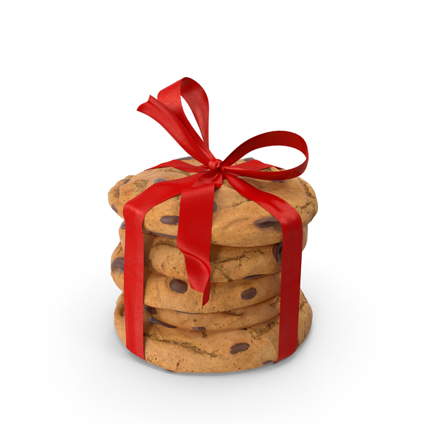 Cookies Tied with Ribbon PNG & PSD Images